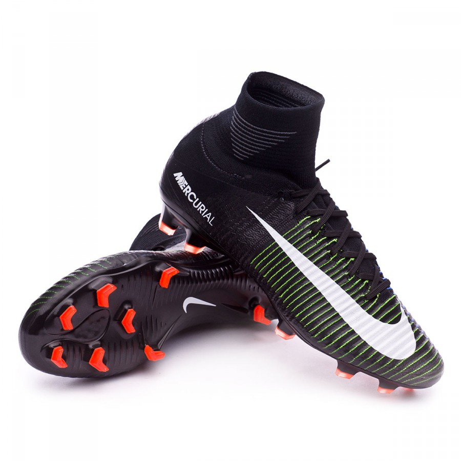 best cheap b7b67 5a028 ... italy bota nike mercurial superfly v acc fg black 5da4a 2fe2b